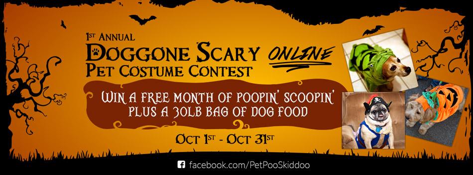 doggone scary pet costume contest - Pet Halloween Photo Contest