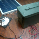 How to Connect a Solar Powered Fan to Your Composter